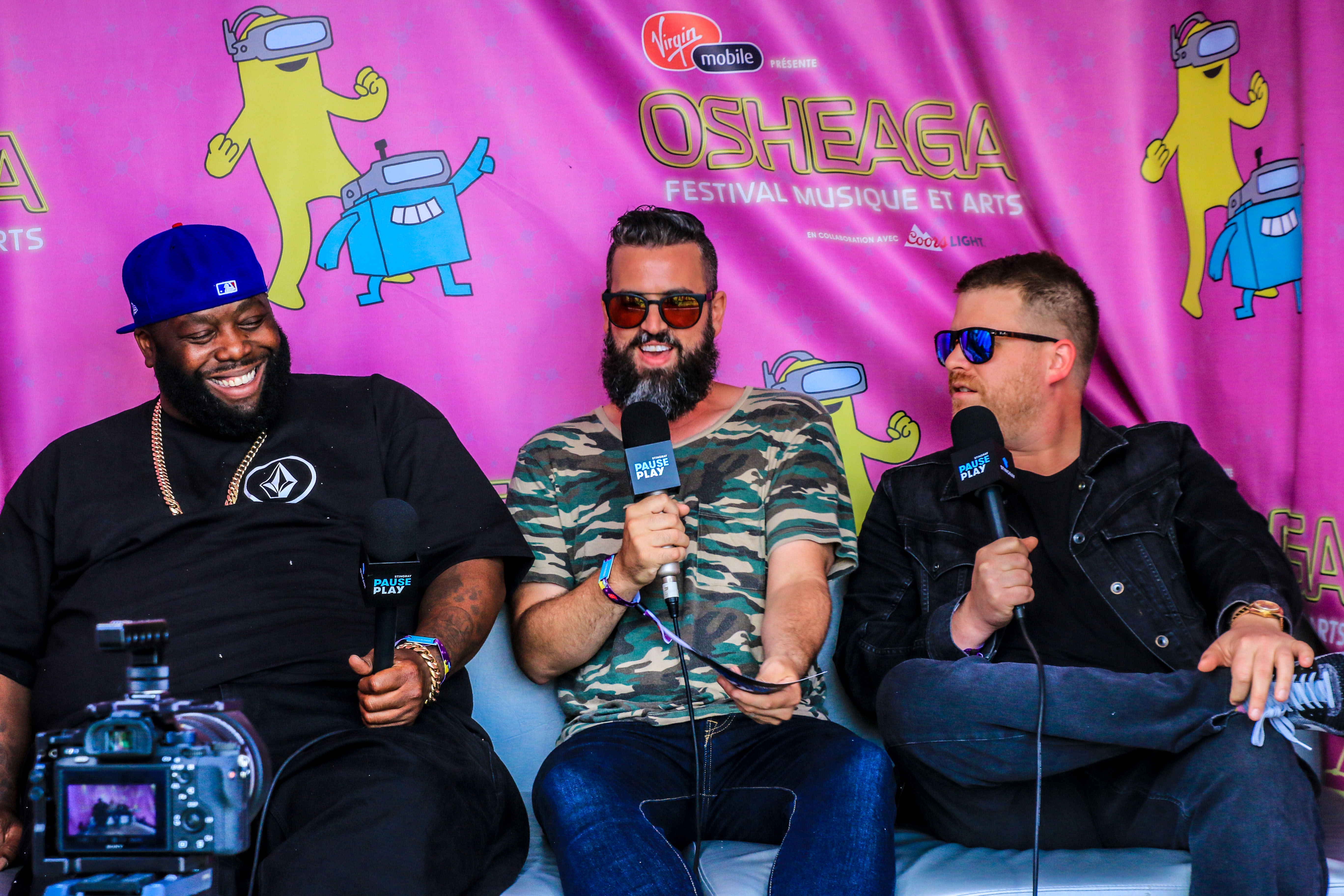 Stingray PausePlay hits Osheaga 2017