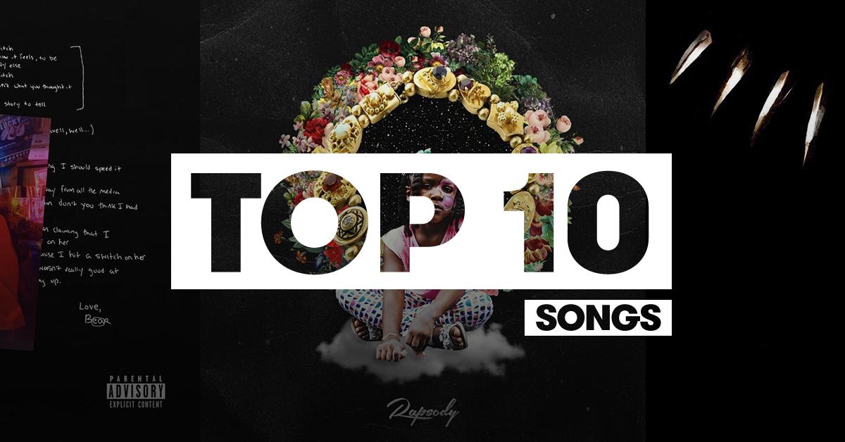 Top 10 Hip-Hop songs of 2018 so far