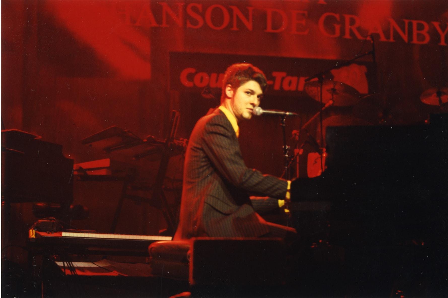Pierre Lapointe au Festival international de la chanson de Granby