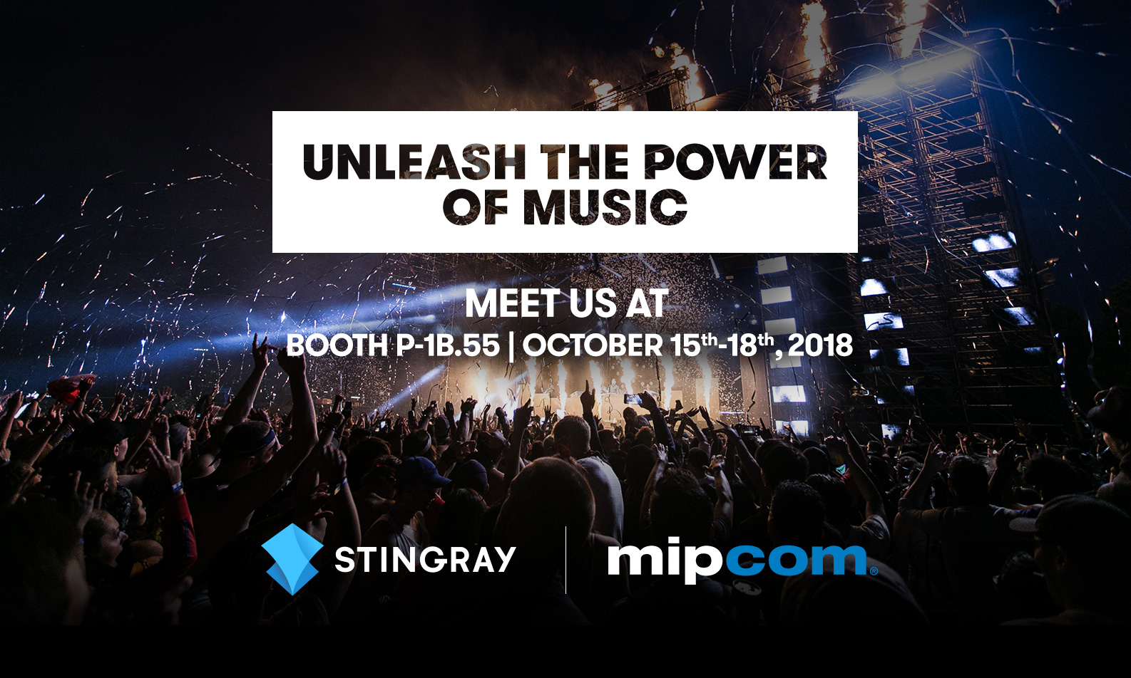 Stingray at MIPCOM 2018