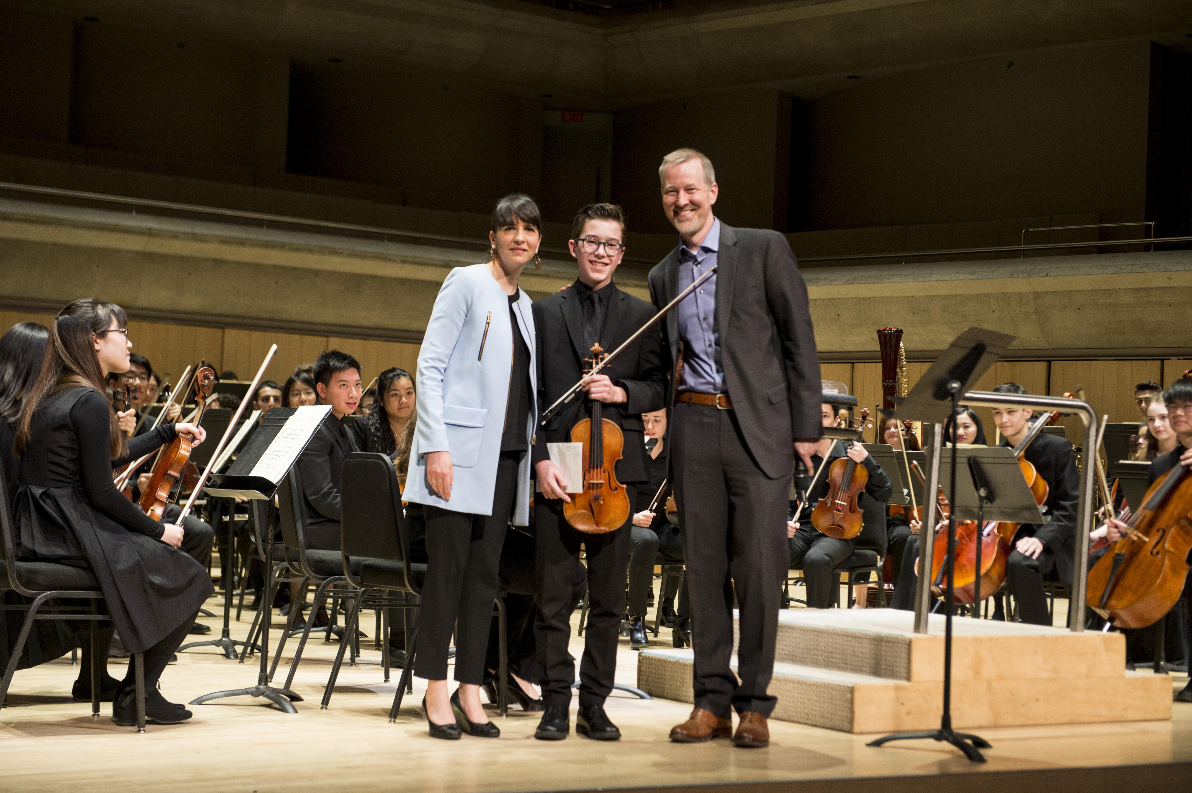Ariane Charbonneau, Duncan MacDougall, and Matthew Loden