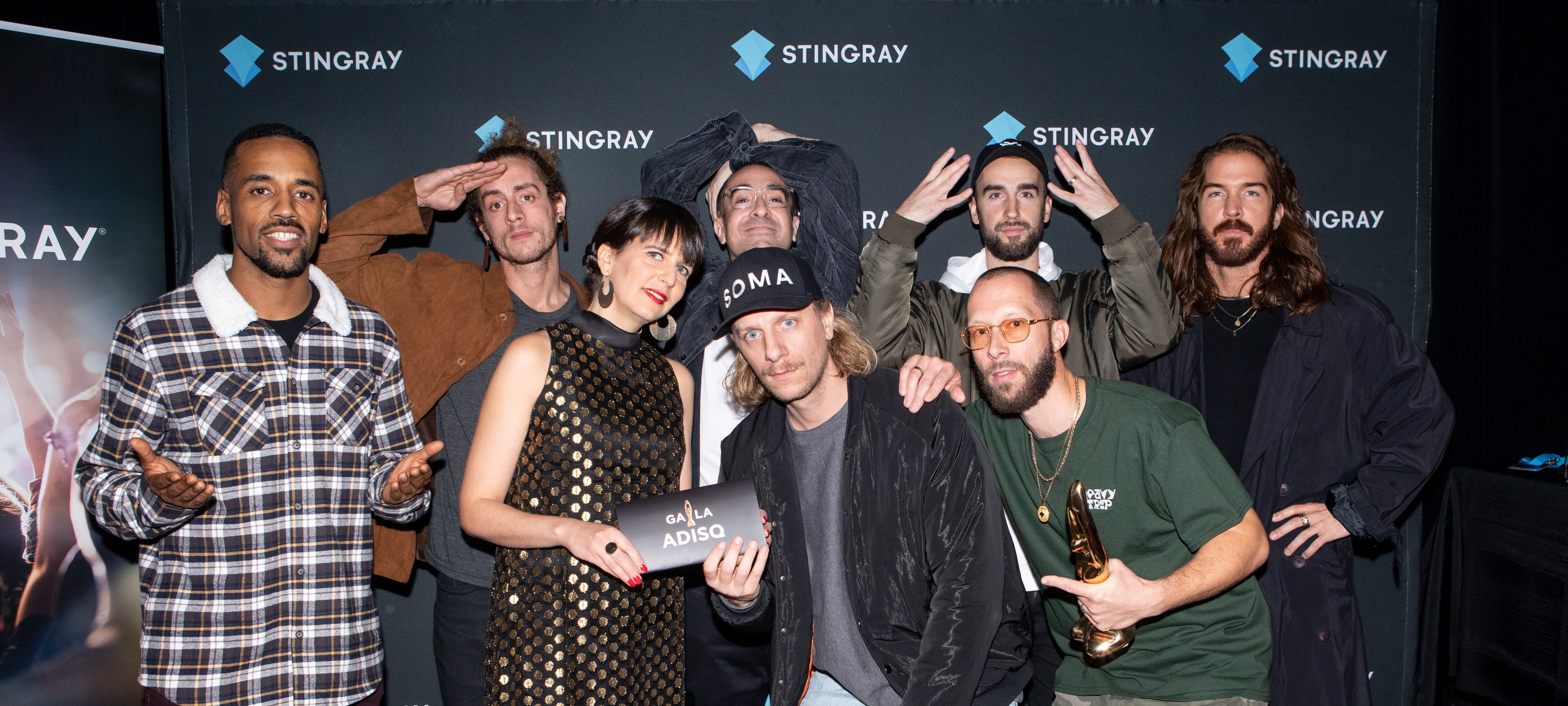 Alaclair Ensemble (Prix Étoiles Stingray) et Ariane Charbonneau (Stingray)