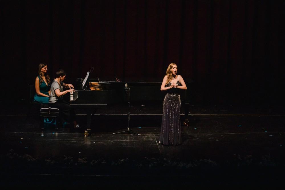 Sarah Dufresne sur scène