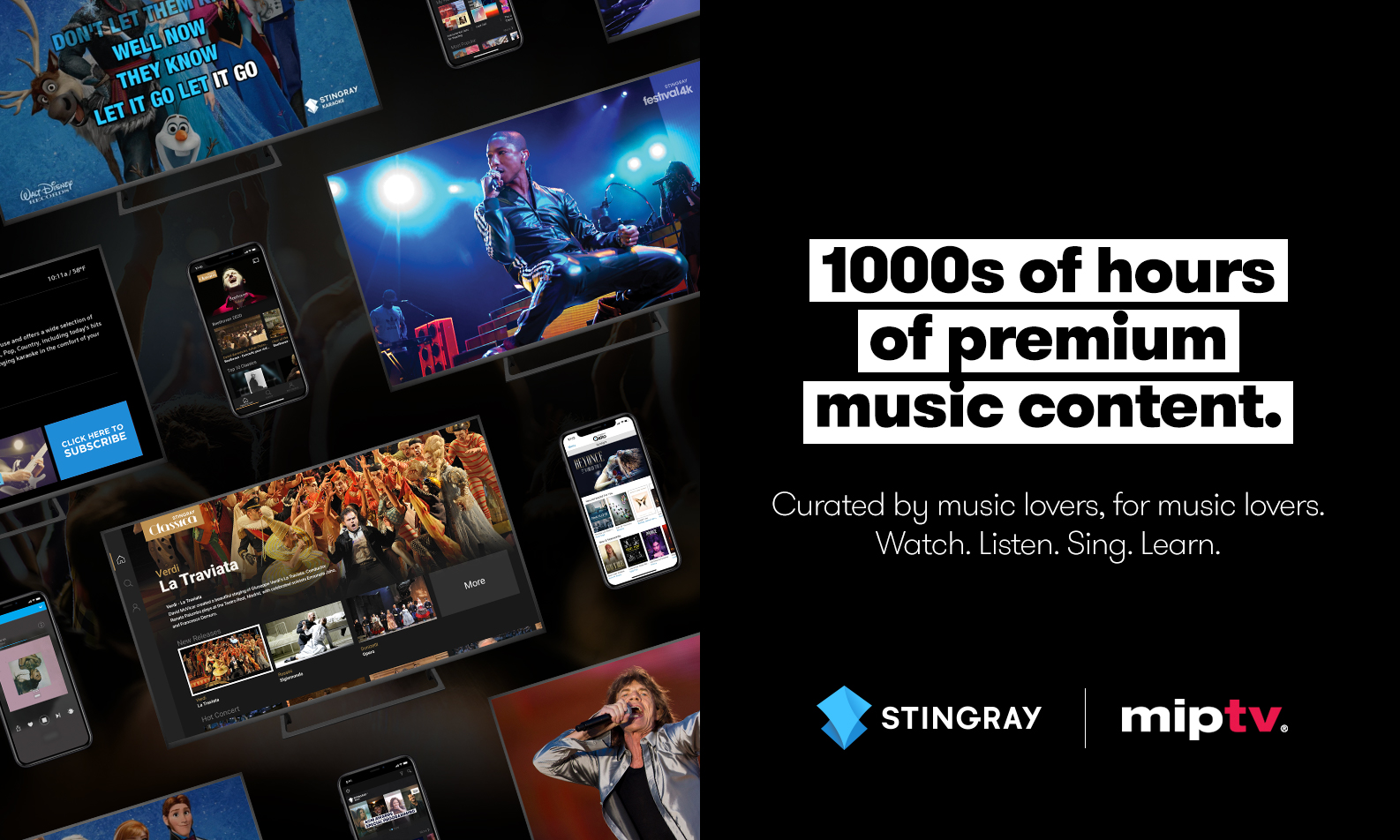 Stingray back at MIPTV 2020! | World's Entertainment Content Market