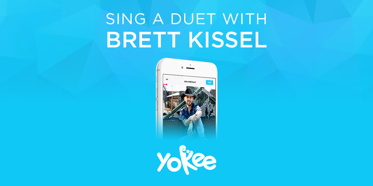 sing with country artist Brett Kissel