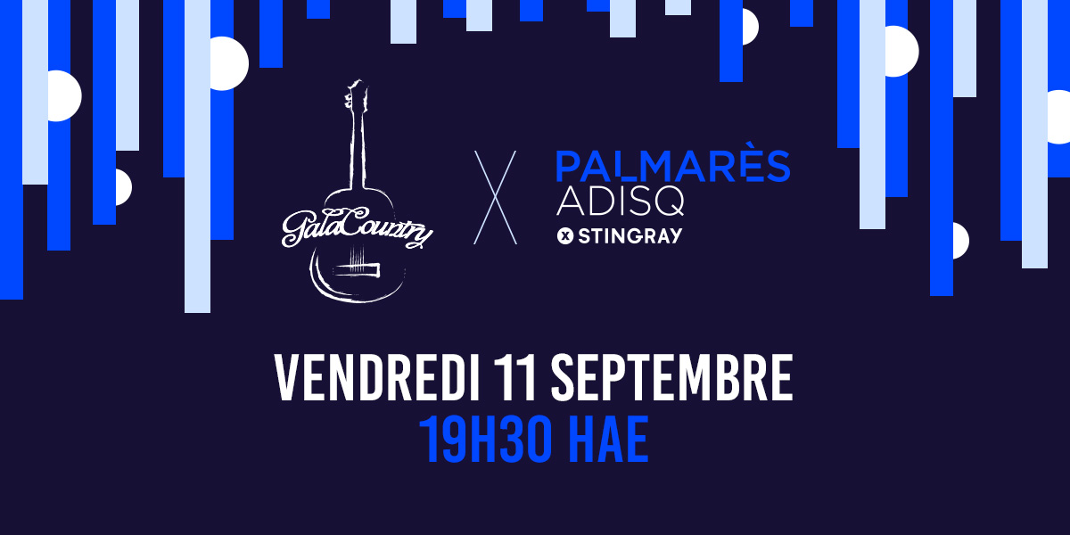 Gala Country 2020 sur PalmarèsADISQ par Stingray