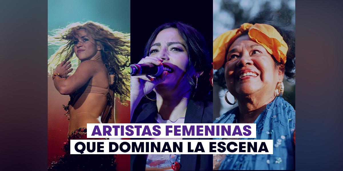 Artistas Femeninas
