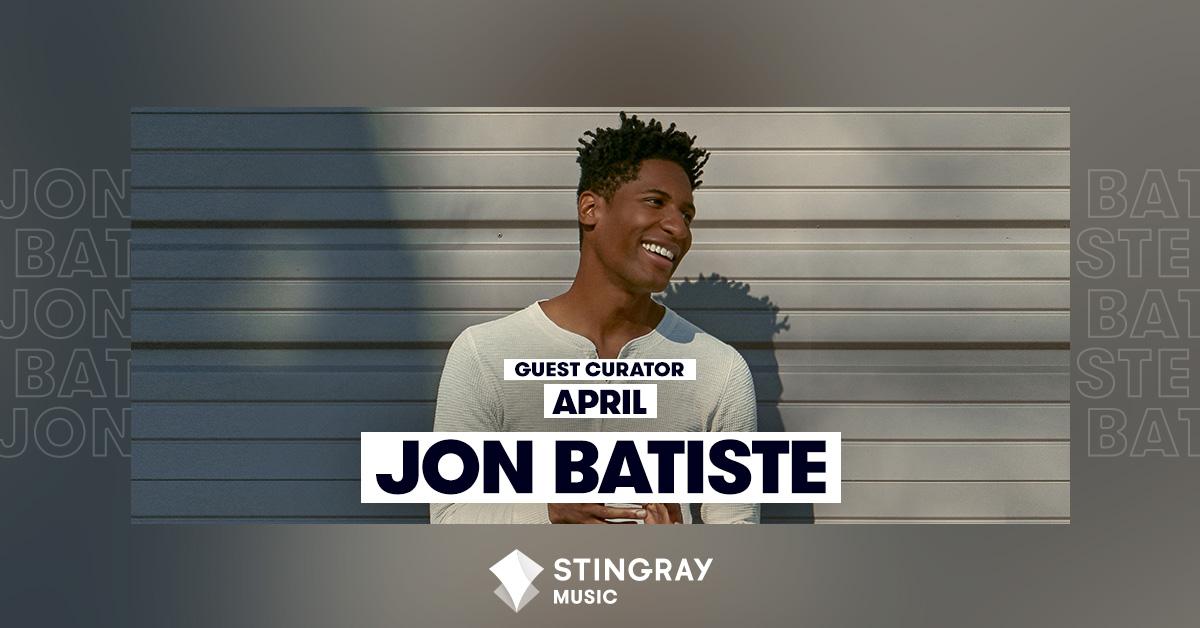 Guest Curator of April Jon Batiste