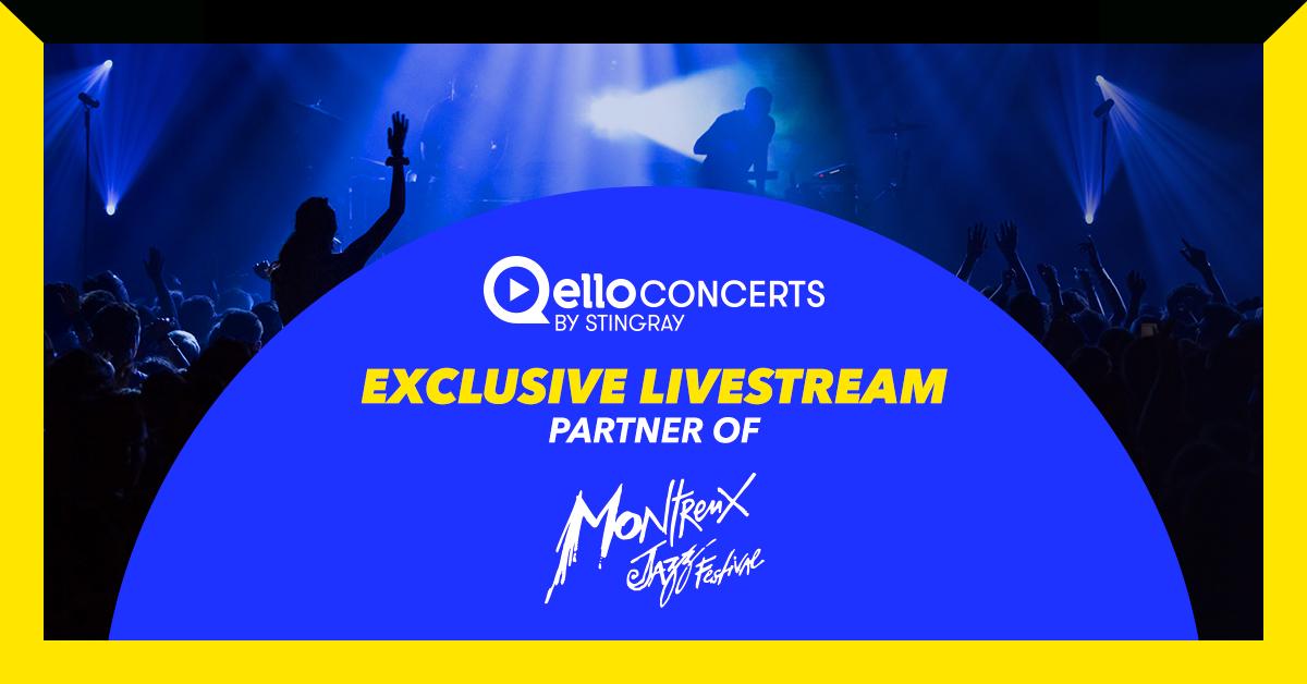 Montreux Jazz Festival Livestream Qello Concerts