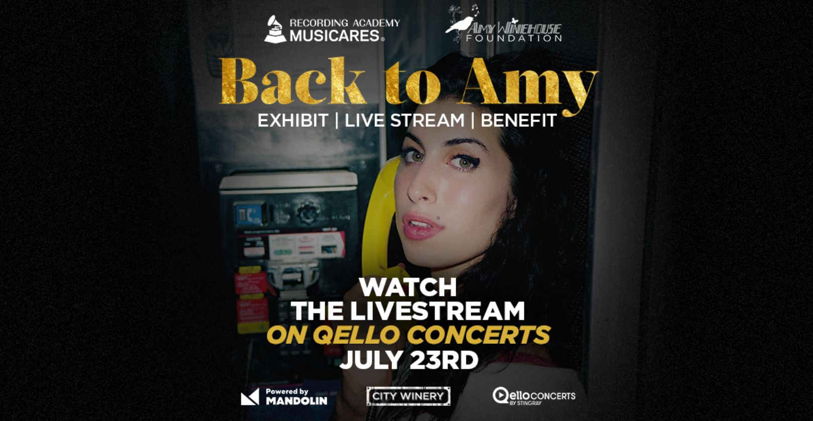 back to amy livestream amy winehouse tribute qello concerts