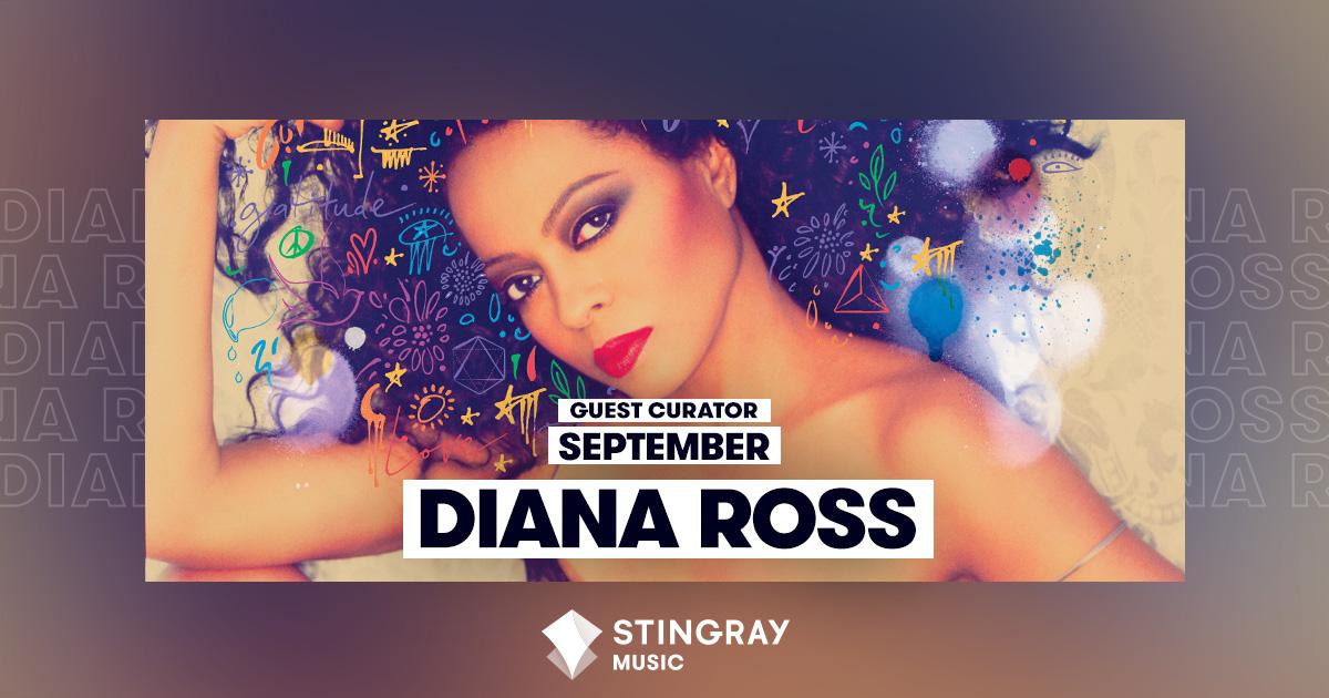 Guest Curator September - Diana Ross