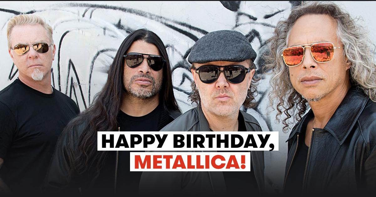 Metallica Turns 40