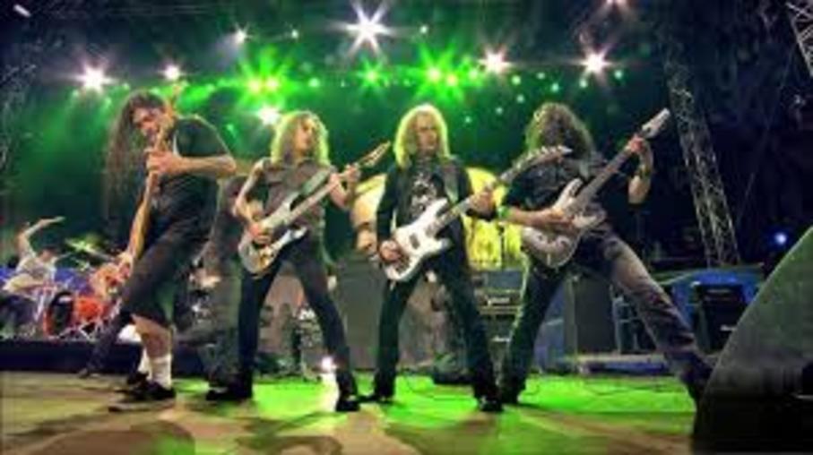 Anthrax, Megadeth, Slayer & Metallica