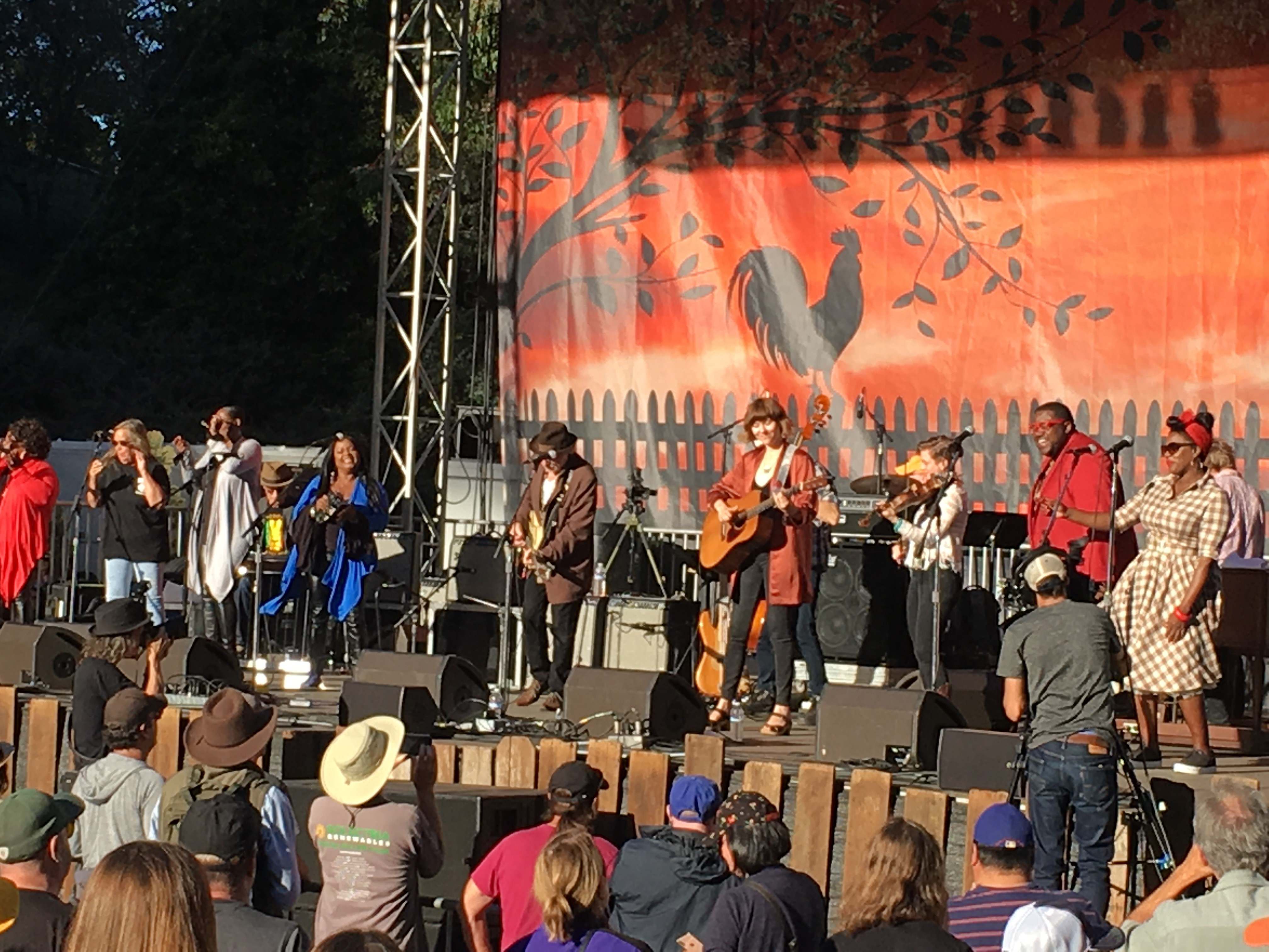 Buddy Miller's Cavalcade of Stars Featuring the McCrary Sisters, Tracy Nelson, Buddy Miller, Molly Tuttle, and The War and Treaty.