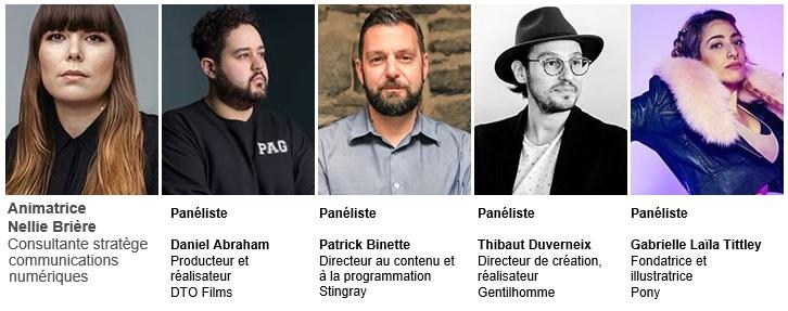 Intervenants Panels ADISQ Francos Montréal