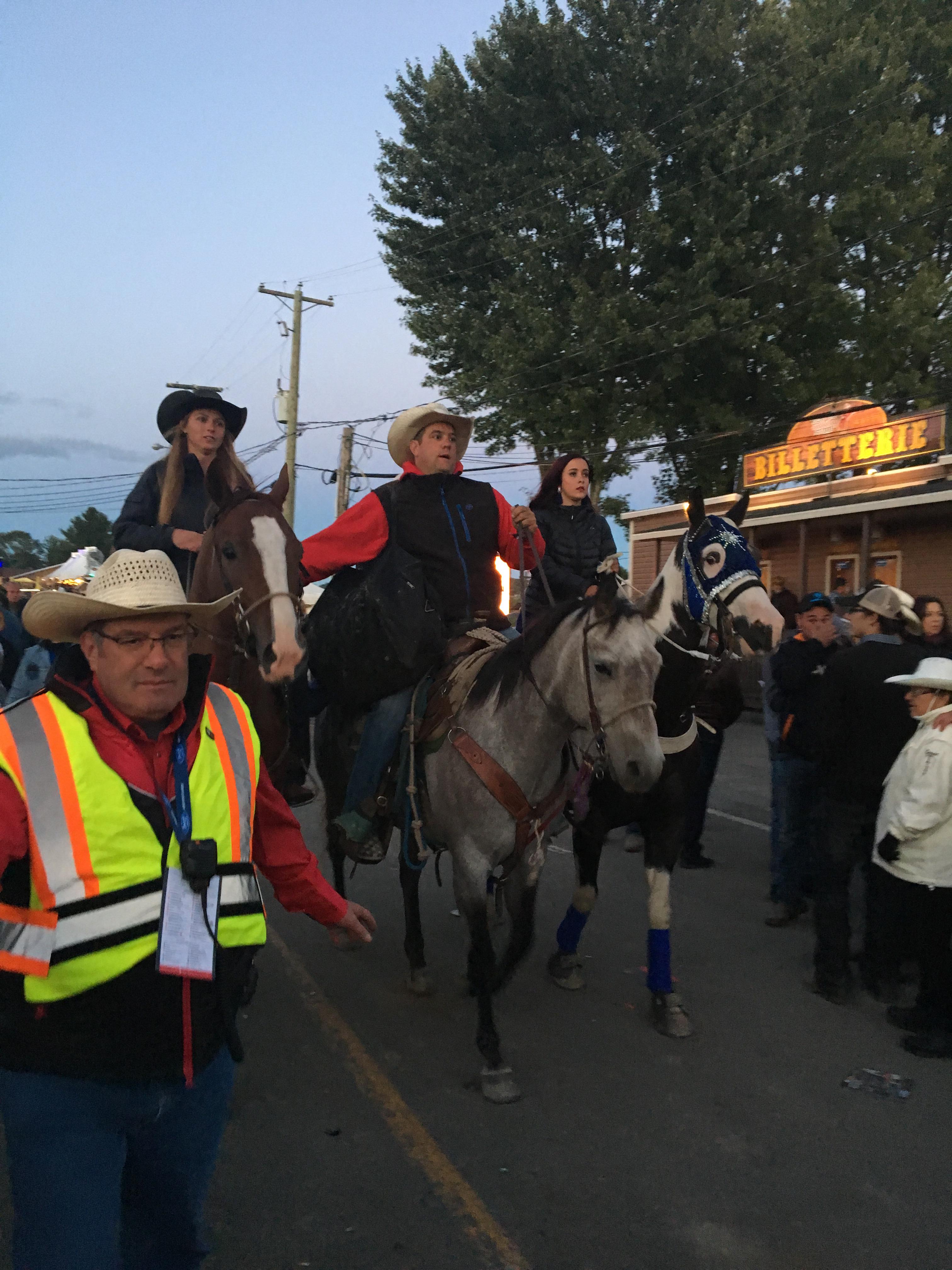 Cheval au Festival Western de St. Tite