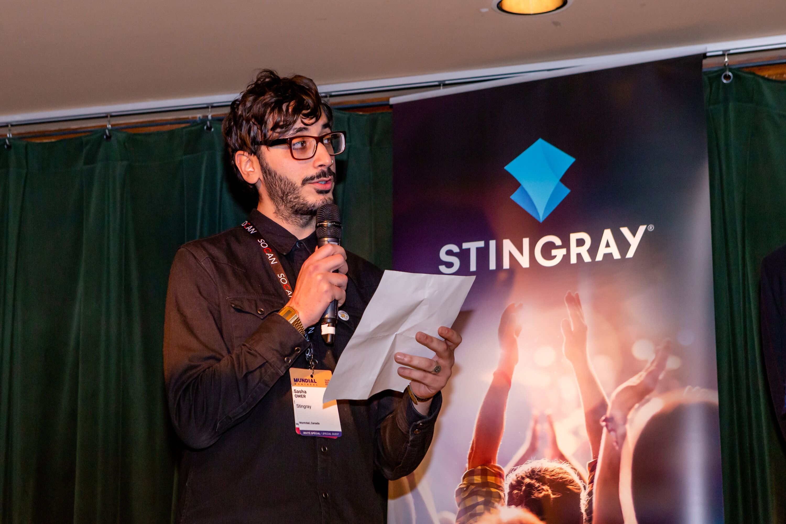 Shasha Omer, Music Programmer (Stingray Music)