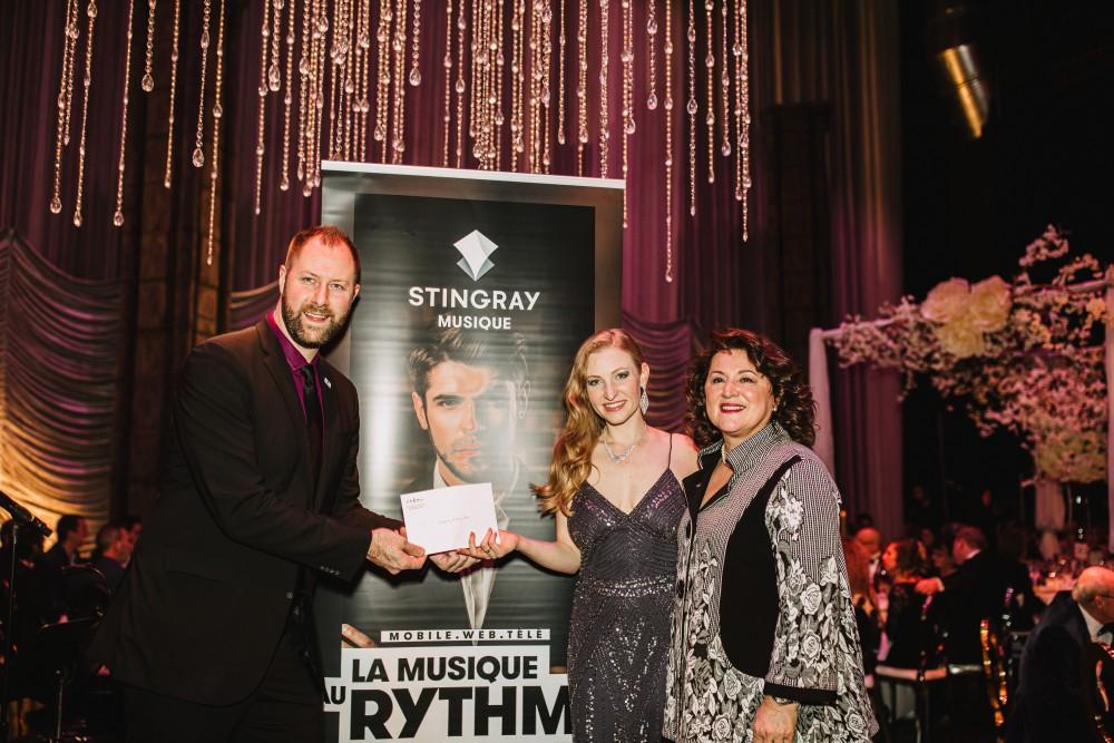 Remise du Prix Étoiles Stingray