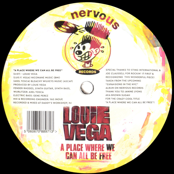 A Place Where We Can All Be Free - Louie Vega