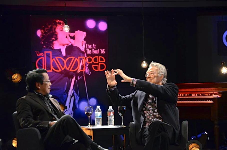 Ray Manzarek and Ben Fong-Torres